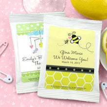 Load image into Gallery viewer, Personalized Baby Lemon Drop Martini Favors (Many Designs Available)