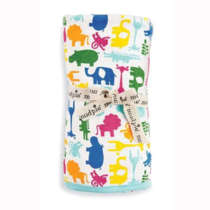 Safari Receiving Baby Blanket