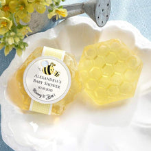 Load image into Gallery viewer, Mommy To Bee Honey-Scented Honeycomb Soap