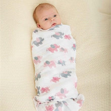Load image into Gallery viewer, Layette Girl Swaddle Blankets (Set of 2)