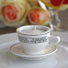 Load image into Gallery viewer, Teacups & Tea Lights Miniature Porcelain Tea Light Holder