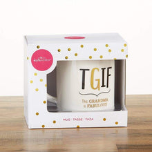 Load image into Gallery viewer, Grandma TGIF 16 oz. White Coffee Mug
