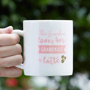 Grandma Latte 16 oz. White Coffee Mug