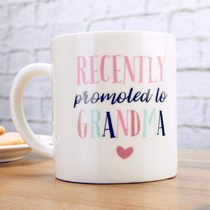 Promoted To Grandma 16 oz. White Coffee Mug