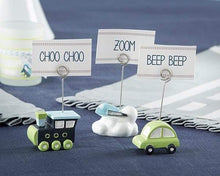 Load image into Gallery viewer, Precious Cargo Transportation Place Card Holder - Assorted (Set of 6)