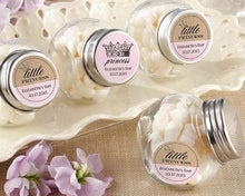 Load image into Gallery viewer, Personalized Little Princess Mini Glass Favor Jars (Set of 12)