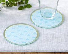 Load image into Gallery viewer, Seaside Escape Glass Coaster (Set of 2)