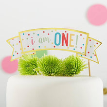 Load image into Gallery viewer, 1st Birthday Cake Topper