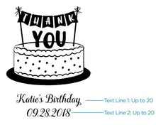 Load image into Gallery viewer, Personalized Kids Birthday Kraft Goodie Bag (Set of 12)