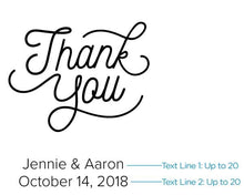 Load image into Gallery viewer, Personalized Thank You Kraft Goodie Bag (Set of 12)