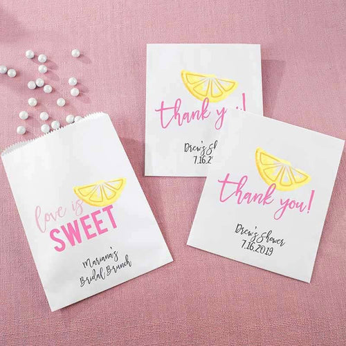Personalized Cheery & Chic White Goodie Bag (Set of 12)