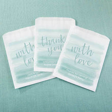 Load image into Gallery viewer, Personalized Seaside Escape White Goodie Bag (Set of 12)