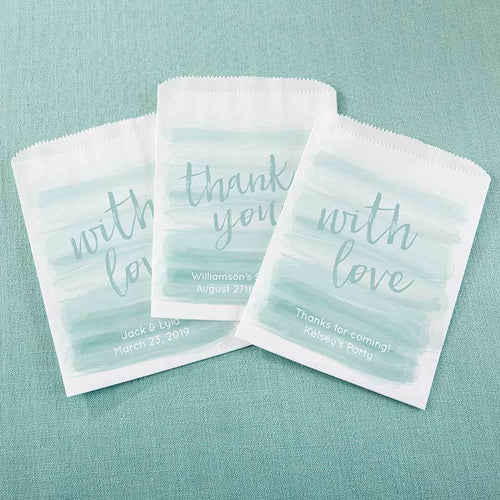 Personalized Seaside Escape White Goodie Bag (Set of 12)