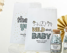 Load image into Gallery viewer, Personalized Safari White Goodie Bag (Set of 12)