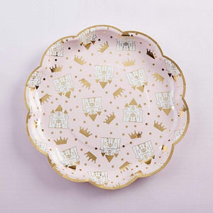 Princess 9 in. Paper Plates (Set of 8)