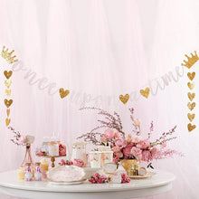 Load image into Gallery viewer, Princess Party Banner (Set of 2)