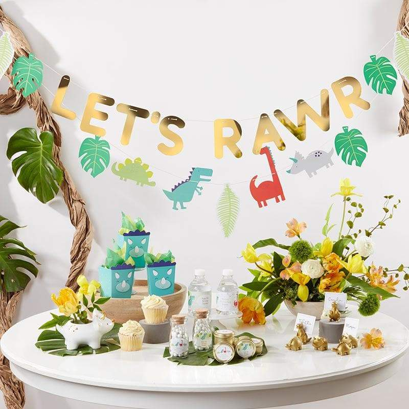 Dino Party Banner (Set of 2)