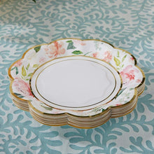Load image into Gallery viewer, Floral 7 in. Paper Plates (Set of 16)