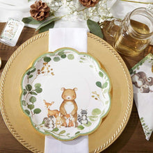 Load image into Gallery viewer, Woodland Baby 9 in. Premium Paper Plates (Set of 16)