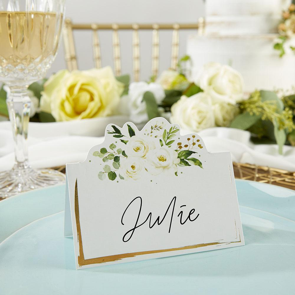 Botanical Garden Tent Place Card (Set of 50)