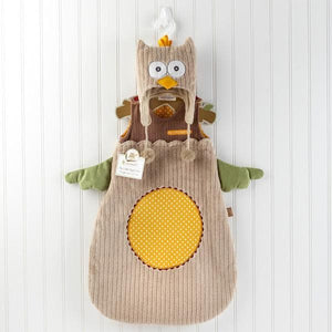 My Little Night Owl Snuggle Sack and Cap (Personalization Available)