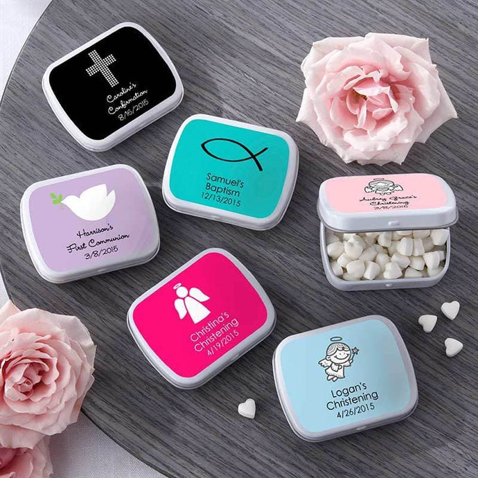Personalized Mint Tins (Religious Designs)