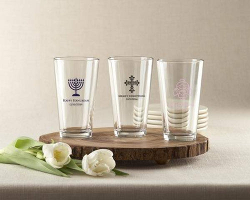 Personalized 16 oz. Pint Glass - Religious