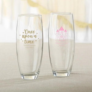 Personalized Princess Party 9 oz. Stemless Champagne Glass