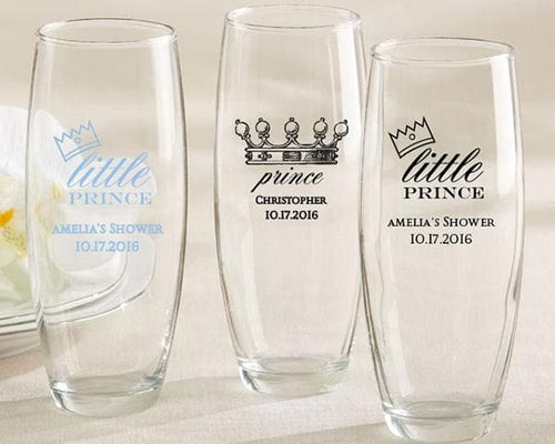 Personalized Little Prince 9 oz. Stemless Champagne Glass
