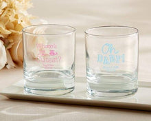 Load image into Gallery viewer, Personalized Baby Shower 9 oz. Rocks Glass
