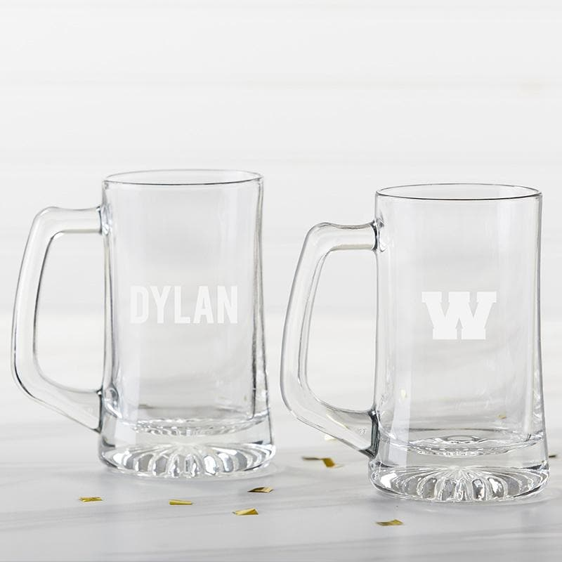Personalized Engraved 15 oz. Beer Stein