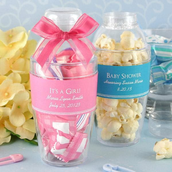 Personalized Baby Cocktail Shaker Favor (Many Designs Available)
