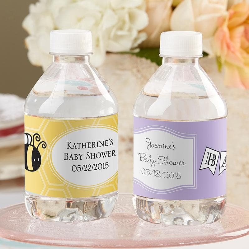 Personalized Baby Water Labels