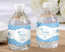 Load image into Gallery viewer, Personalized Little Peanut Elephant Water Bottle Labels