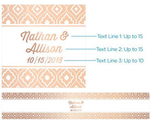 Load image into Gallery viewer, Personalized Lip Balm - Copper Foil (Set of 12)