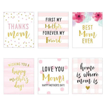 Load image into Gallery viewer, Mother's Day Wine Bottle Label (Set of 6)