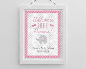 Personalized Little Peanut Poster (18x24)