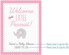 Load image into Gallery viewer, Personalized Little Peanut Poster (18x24)