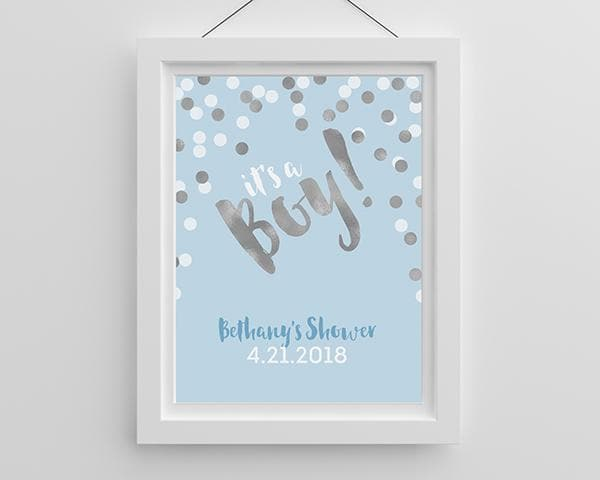 Personalized It's a Boy! Poster (18x24)