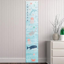Load image into Gallery viewer, Personalized Under The Sea Growth Chart