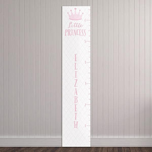 Personalized Little Princess Growth Chart