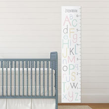 Load image into Gallery viewer, Personalized ABC Growth Chart
