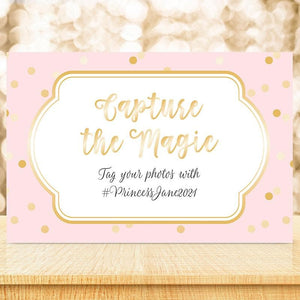 Personalized Princess Party Sign (18x12)