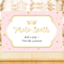 Load image into Gallery viewer, Personalized Princess Party Sign (18x12)