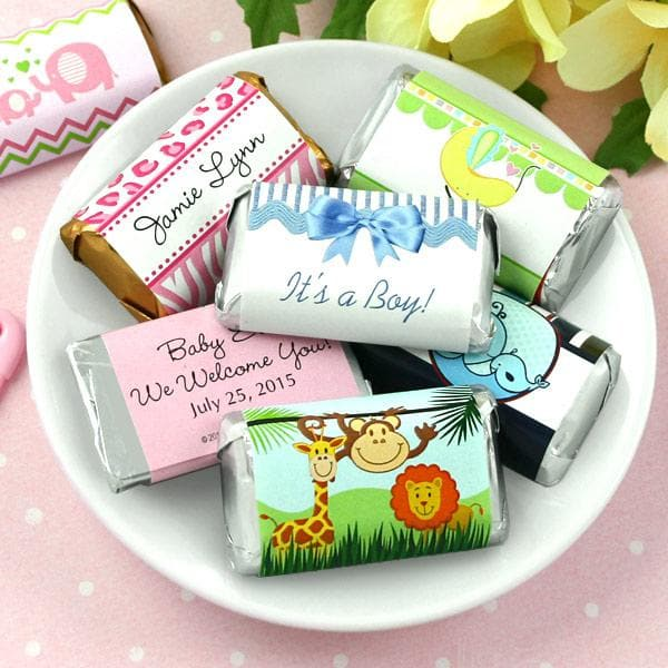 Personalized Baby Shower Hershey Miniatures (Many Designs Available)