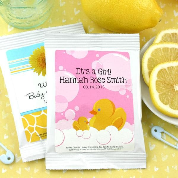 Personalized Baby Lemonade Favors (Many Designs Available)