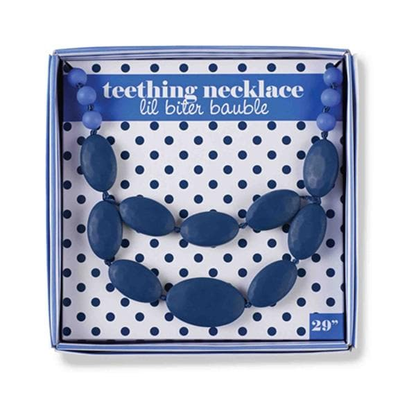 Lil Bauble Blue Teething Necklace