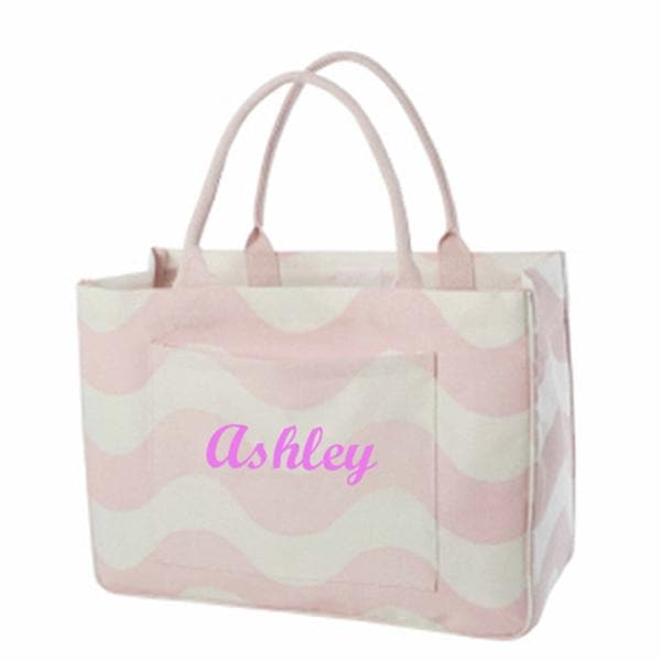 Daytripper Tote Pink Wave (Personalization Available)