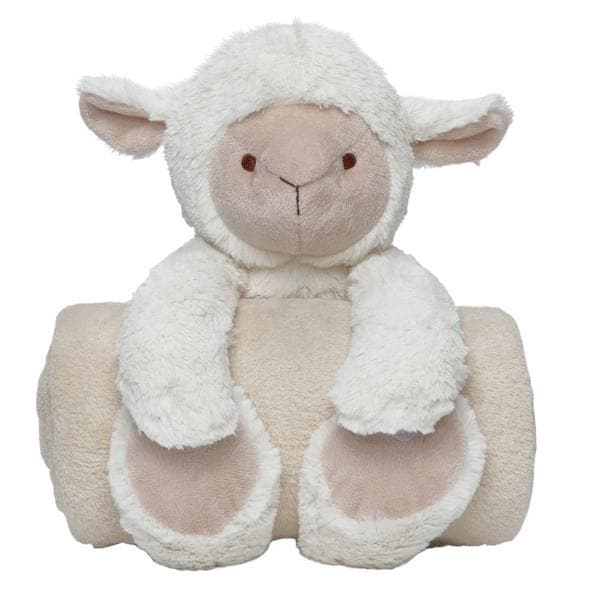 Lambie Bedtime Huggie and Blanket Set (2 Pieces)