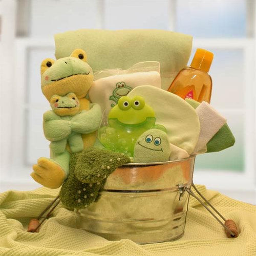 Little Pollywogs Baby Bath Tub Gift Basket